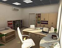 Кабинет 1 рабочее место с местами для посетителей