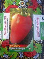 Семена сладкого перца Богатырь, Элитный Ряд (Молдавия), 5г перец сладкий Богатырь