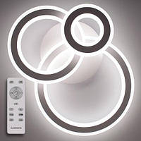 LUMINARIA TRIPLEX ROUND 108W Стельовий світильник світлодіодний з пультом ДУ