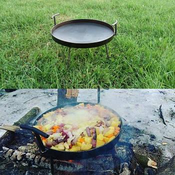 Сковорода туристична з диска, борони 40 см
