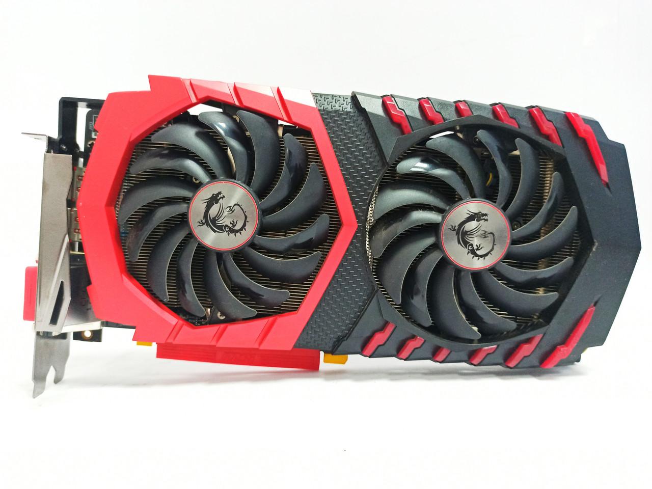 Видеокарта MSI RX 580 (4Gb/GDDR5/256bit) RX 580 GAMING X 4G БУ