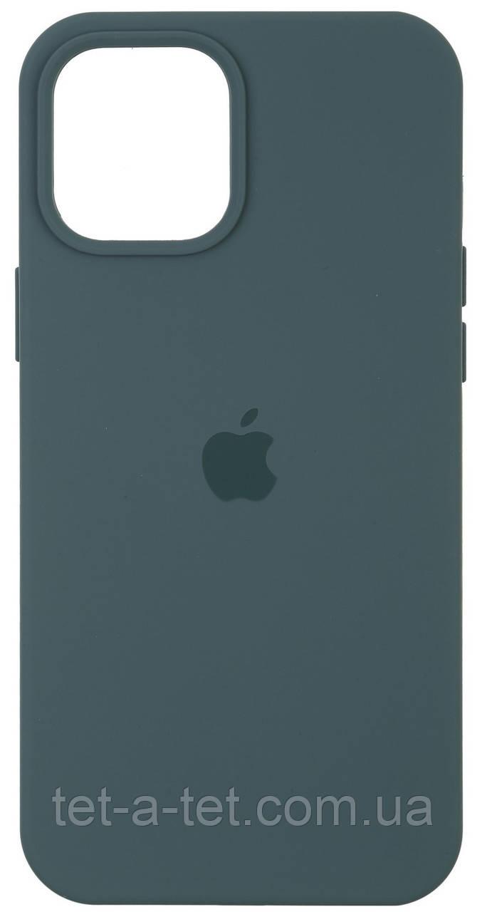 Чехол силиконовый Armorstandart Silicone Case для iPhone 12   12 Pro  Pine Green