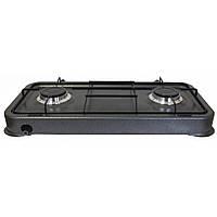 Газовая настольная плита Grunhelm GGP-6002 2940 Вт серая