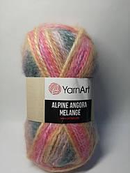 Пряжа Alpine Angora Melange YarnArt (20% шерсть, 150 грамм - 150 метров)