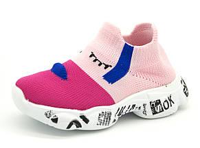 Кроссовки Для девочек Розовый Размеры: 21,22,23,24,25,26, фото 2