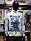 Светр чоловічий Pulltonic Ведмідь, фото 2