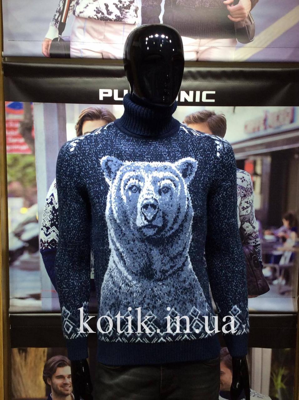 Светр чоловічий Pulltonic Ведмідь