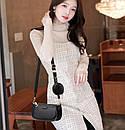Модная женская сумка кросс-боди, клатч, кошелек для монет, комплект 3 в 1, фото 4