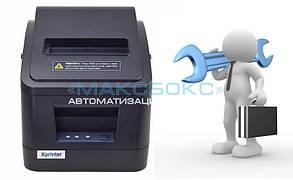 Ремонт принтера чеков - диагностика
