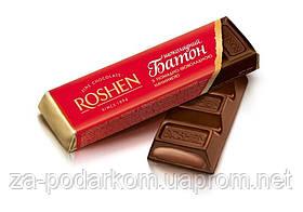 Батончик шоколадний з начинкою 43г (червона упаковка) , ROSHEN