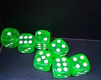 Кубик кости игральные для нард 14 ММ, фото 1