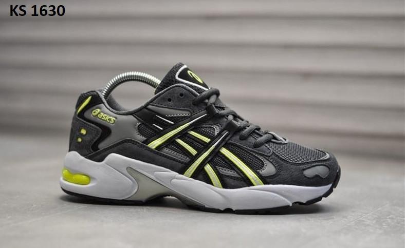 Чоловічі кросівки Asics Gel 5 OG сірі / Асикс Гель (Топ репліка ААА+)