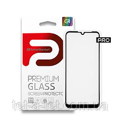 Захисне скло ArmorStandart Pro для Motorola E6s Black (premium glass)