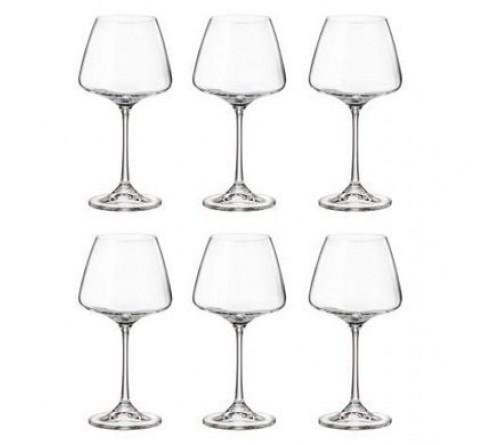Набор бокалов для вина (6 шт/ 350мл) Bohemia Corvus (1SC69/00000/350)
