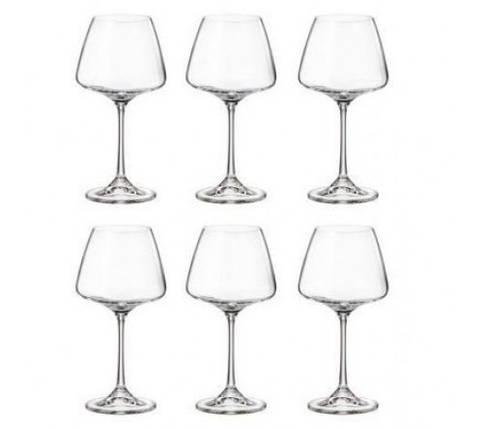Набор бокалов для вина (6 шт/ 350мл) Bohemia Corvus (1SC69/00000/350), фото 2