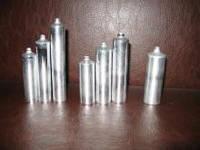 Картриджи для термопластичного материала пустые (с пробками) 22, 24, 25, 28 мм