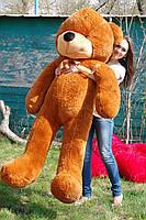 Большой Плюшевый Медведь 180 см Коричневый. Большая Мягкая игрушка Мишка Плюшевый., фото 1