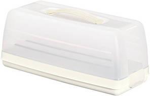 Емкость (тортовница) прямоугольная кремовая 355Х150Х142 мм Curver CR-00414-1