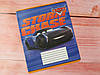 Тетрадь школьная в косую линию 12 листов Тетрада Тачки Cars Best, фото 3