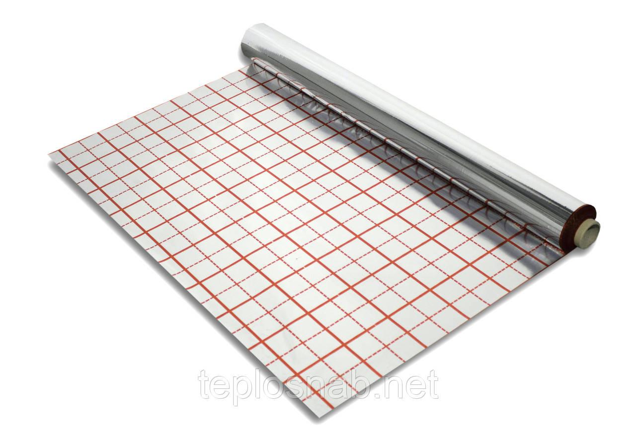 Фольга для теплого пола 50 м2 (100 микрон)