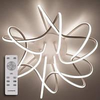 Світлодіодний світильник LUMINARIA LIANA MUSE 80W з пультом управління білий