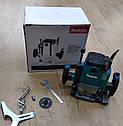 Фрезер Makita RP 2301 FC цанга 6,8,12 мм : 2100 Вт Регулювання оборотів + набір фрез 12 шт, фото 4