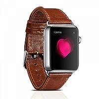Ремінець шкіряний Icarer для Apple Watch Classic Genuine Leather Series Watchband-38mm (brown), фото 1