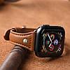 Ремешок кожаный Hoco WB05 Ocean wave for Apple Watch Series 1\2\3\4 (42\44mm) brown