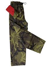 Брюки детские камуфляжный Зарница камуфляж Лес128 см, фото 2