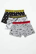 Детский комплект нижнего белья для мальчика Young Reporter Польша 201-0999B-02-100-1 Черный