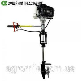 Лодочный мотор Grunwelt GW-170FC (аналог Шмеля, 3,6 л.с.)