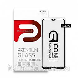 Захисне скло Armorstandart Icon для Nokia 2.4 Black (premium glass)