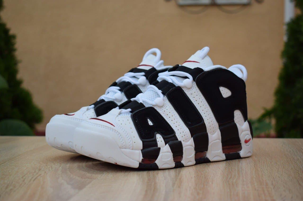 Кросівки жіночі 15242, Nike Air Uptempo, чорні, < 41 > р. 41-26,4 див.