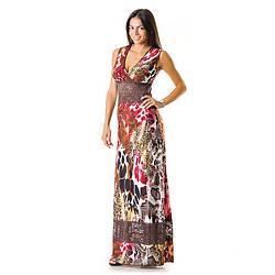 Сукня c мереживами жіноче 0001red