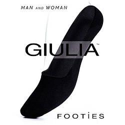Женские подследники 120 den Giulia FOOTIES skl-064
