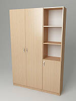 Офисный шкаф для одежды-документов 1200*320*1860h