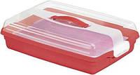 Контейнер большой прямоугольный красный 450Х295Х111мм Curver CR-0098