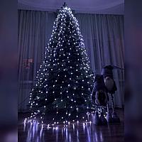 Гирлянда Конский хвост - 2м - Белый, фото 1