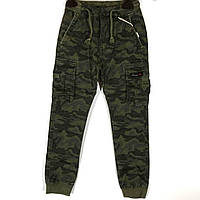 Детские брюки, хаки 134-164