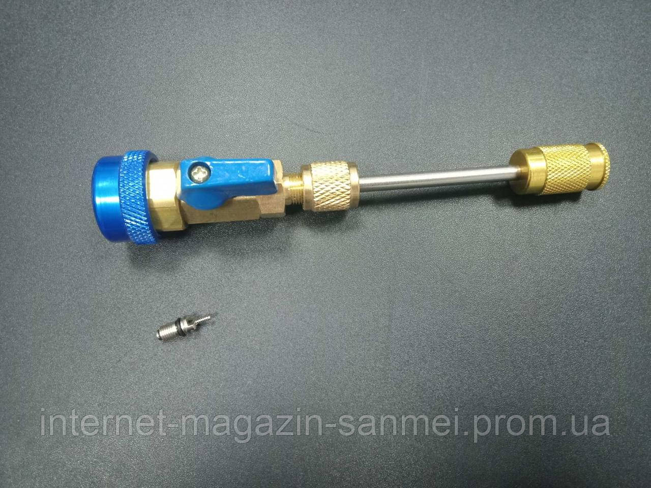 Знімач для заміни ніпеля, золотника під низьким тиском