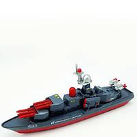 Модель Военный корабль со светом и звуком