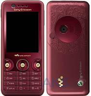 Корпус Sony Ericsson W660 с клавиатурой Red