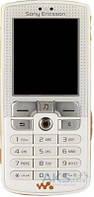 Корпус Sony Ericsson W800 с клавиатурой White