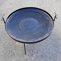 Сковорода из диска 40см бороны с бортиком для жарки