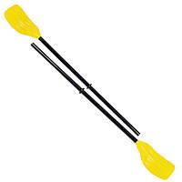 Весла пластиковые детские сборные 124см с ребристыми лопастями Bestway
