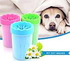 Лапомойка Soft Gentle зеленая | Стакан для мытья лап, фото 4