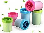 Лапомойка Soft Gentle зеленая | Стакан для мытья лап, фото 3