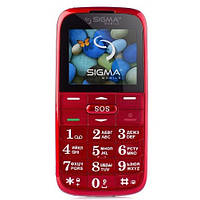 Мобильный телефон Sigma Comfort 50 Slim Red UA