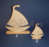 Кораблик на подставке №2 заготовка для декупажа и декора