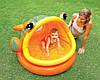 Детский надувной бассейн с навесом Ленивая рыбка Intex 57109: 124х109х71см
